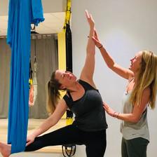 Aerial Yoga - Wholeycow