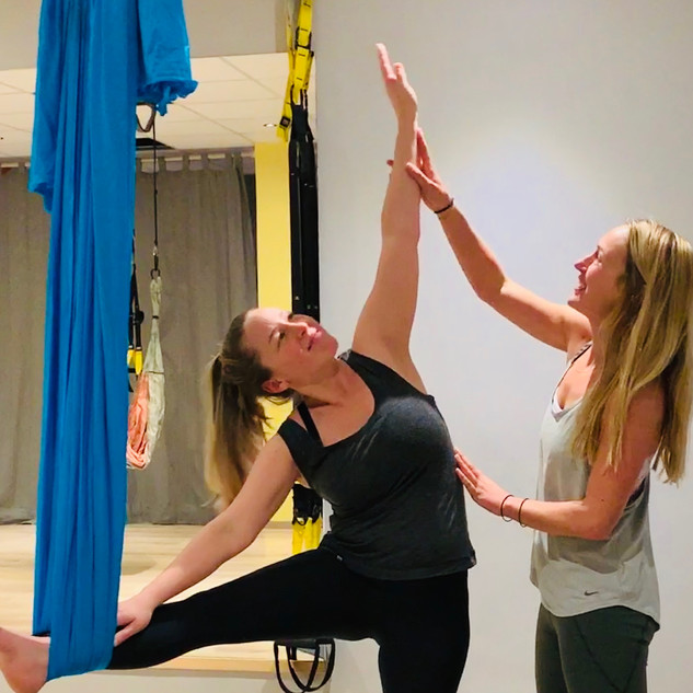 Aerial Yoga - Wholeycow