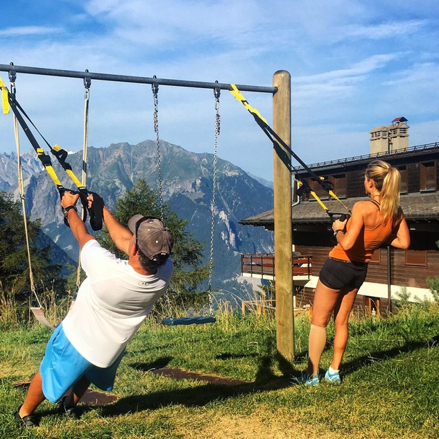 TRX Outdoor Session Verbier