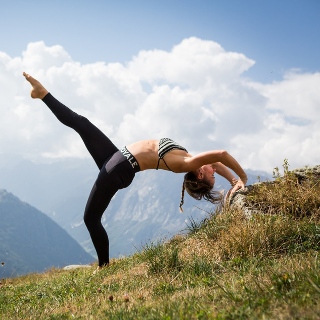 Yoga Outdoor Verbier