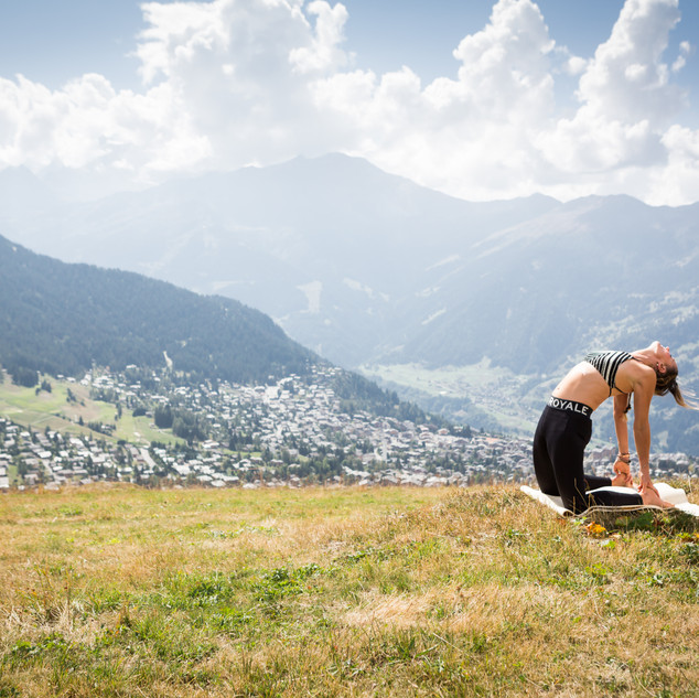 Mountain Yoga Verbier