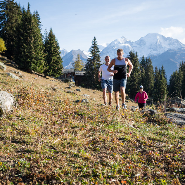 Trail Running Verbier
