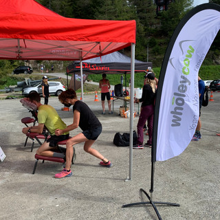 Chair Massage at Champex Lac