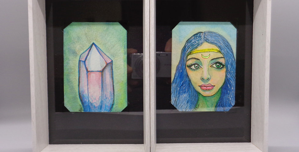 Power of Crystal Mini Art Duo