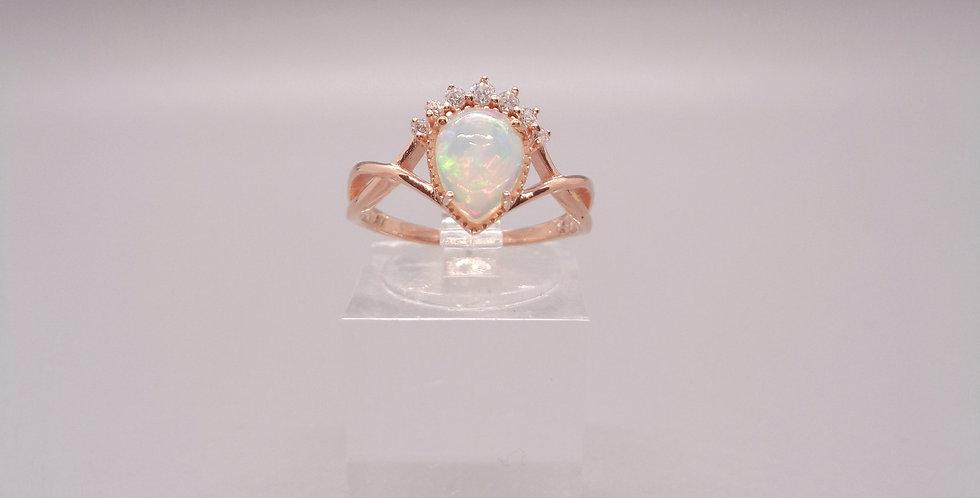 The Tiara Drop Ring