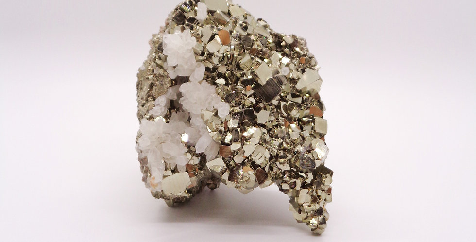 Pyrite & Crystal Cluster