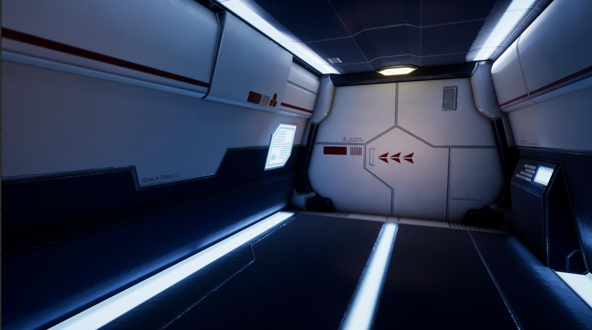 Sci-Fi Doorway Project