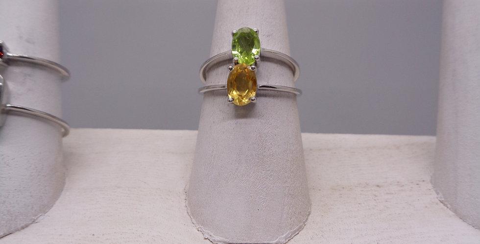 Classic Citrine Ring