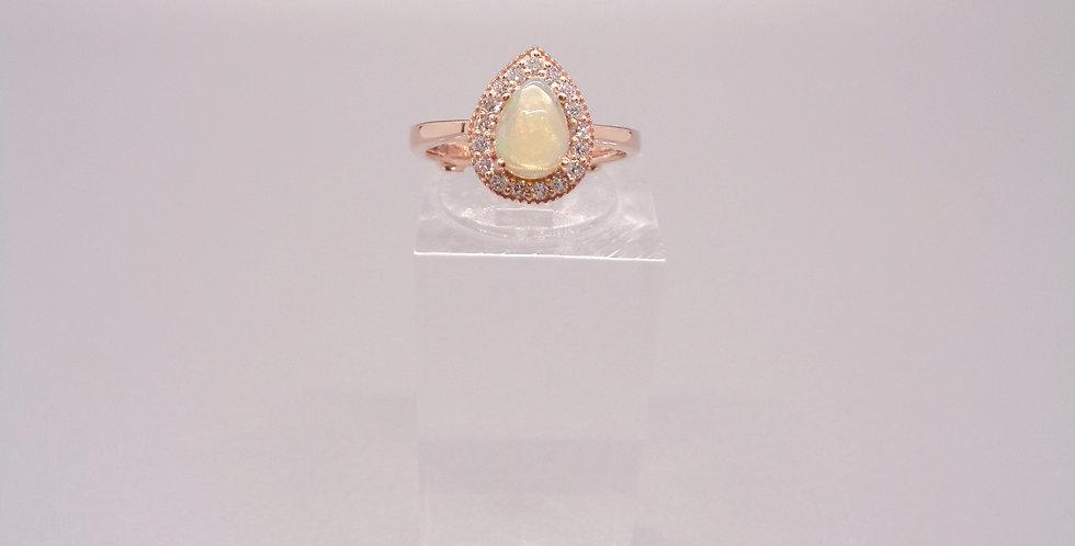 Happy Tears Opal Ring