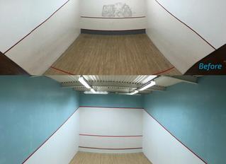 Squash Court Refurbishment Completed
