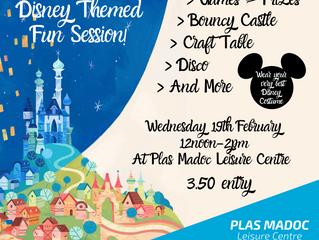 Half Term Disney Themed Event!