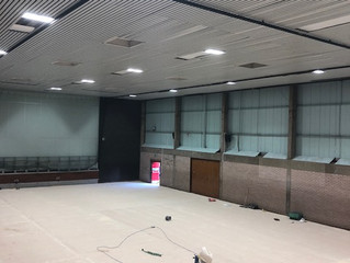 Sports Hall Update