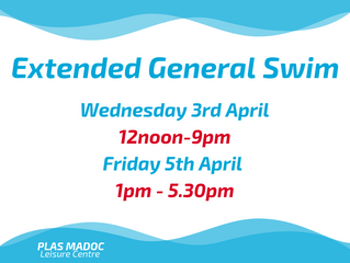Extended Swim This Week!