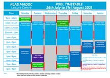 New Timetables - 26/07/2021