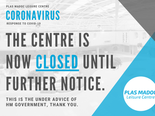 THE CENTRE IS CLOSED