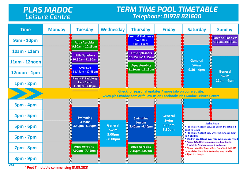 2021.09.01 Term Time Pool Timetable.png