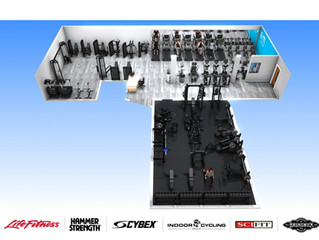 Say hello to your new look Gym!