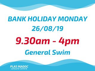 BANK HOLIDAY MONDAY SWIM