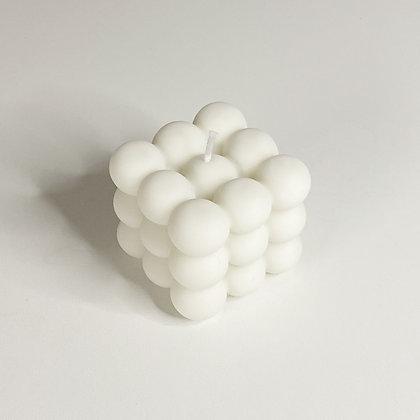 Medium Bubble - Creamy White
