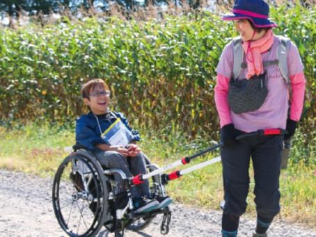 けん引式車椅子補助装置をご存じですか?