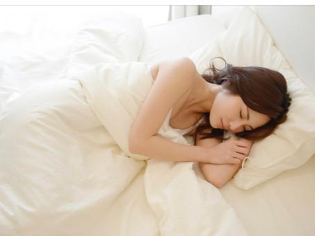 良質な睡眠に誘う方法。