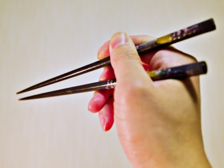 「箸が使えない」というストレス