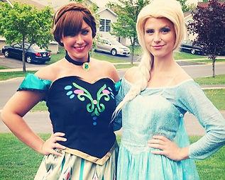 Frozen Elsa and Anna Princess Birthday Party