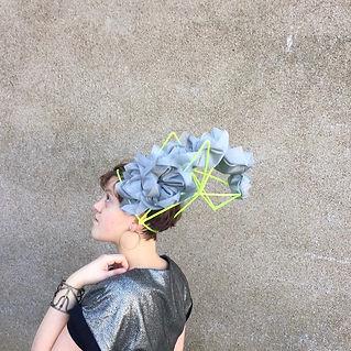 Portrait lou chapeaux