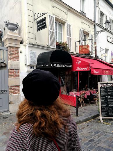 Béret à Montmartre