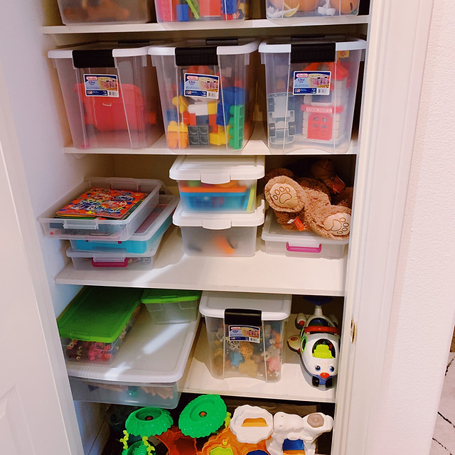 PCIT/play therapy toy closet