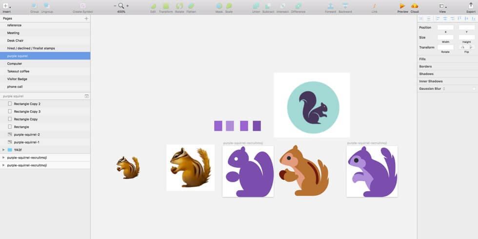 Emoji design in Sketch