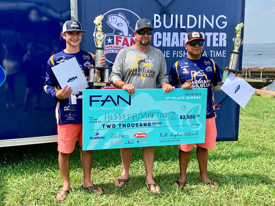 GBC Shows Up BIG at FAN Championship Tourney on Conroe - Jacob Heidrich Earns AOY for FAN South