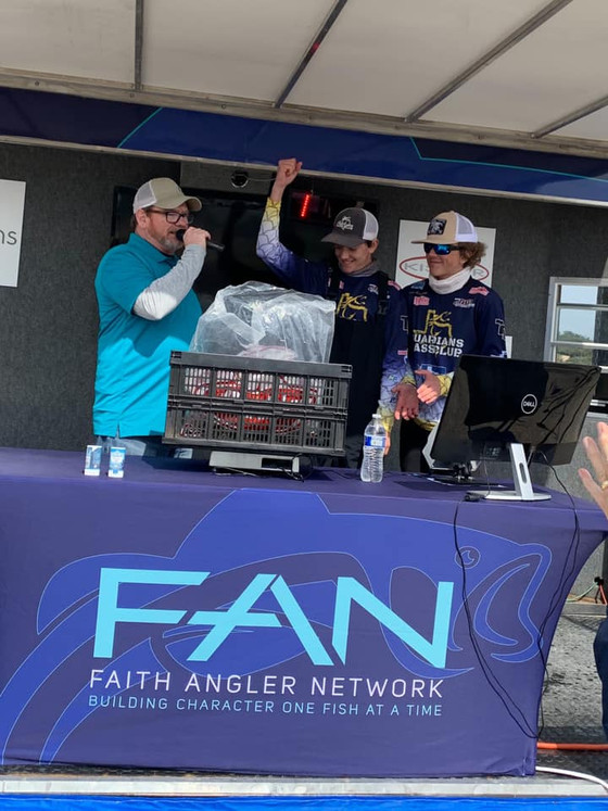 GBC Secures 1st and 3rd on Medina Lake - FAN South #2
