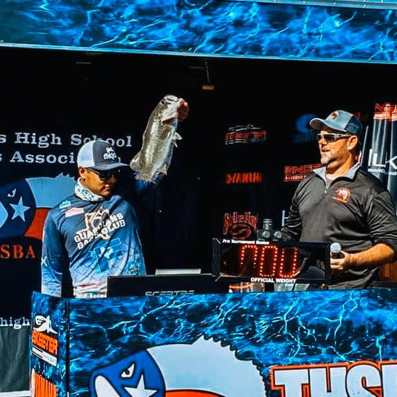 GBC  Angler Wins BIG on LBJ - THSBA