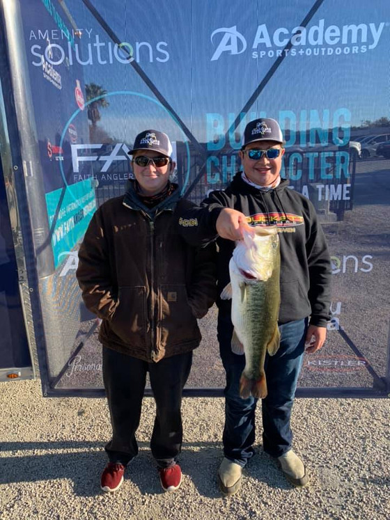 """A Lake Record And The """"W"""" on Canyon Lake For FAN South Qualifier #1"""
