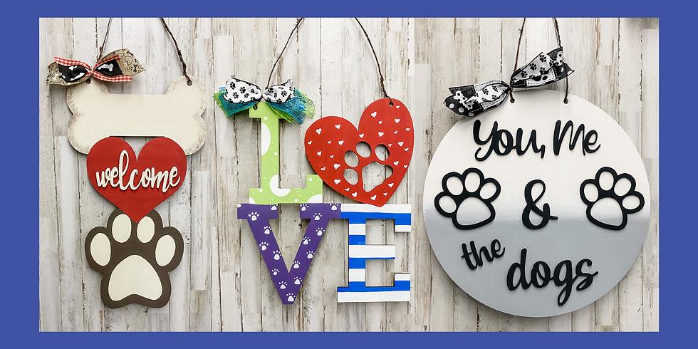 Puppy Love Door Hangers