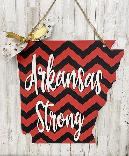 Door Hanger - Arkansas Strong