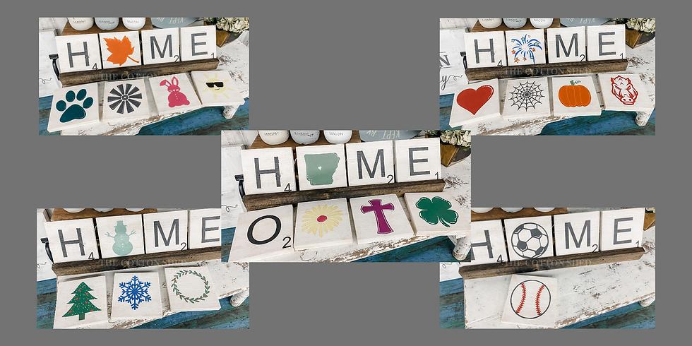 Pick Your Project Workshop ~ Scrabble Tiles