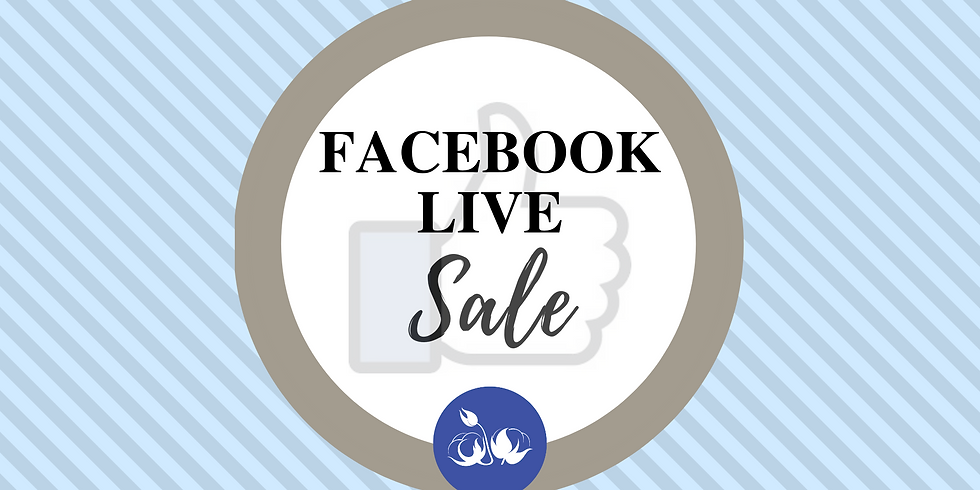 Facebook Live Sale