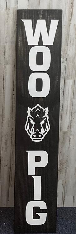 Porch Sign - Woo Pig