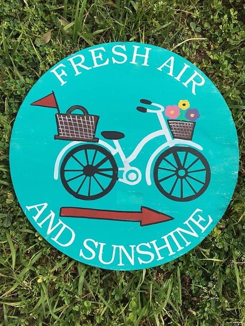 Round Project - Fresh Air & Sunshine