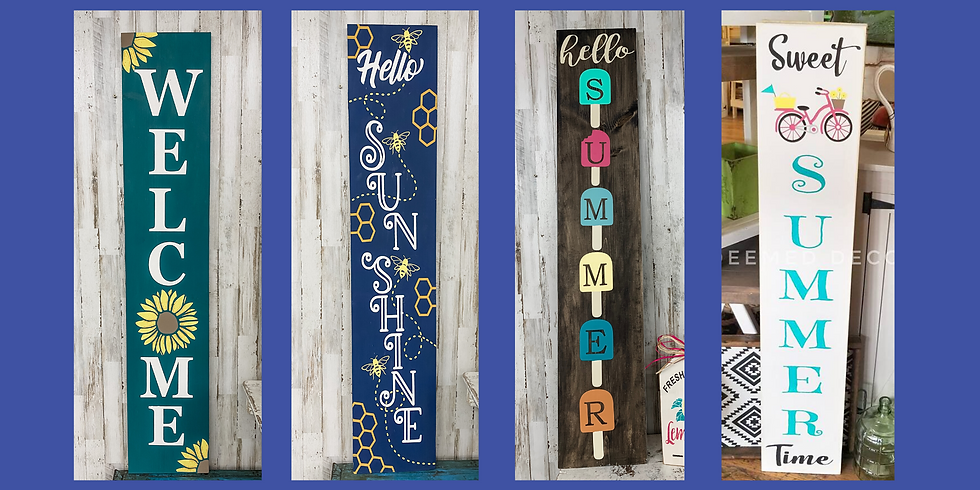 Summer Porch Signs