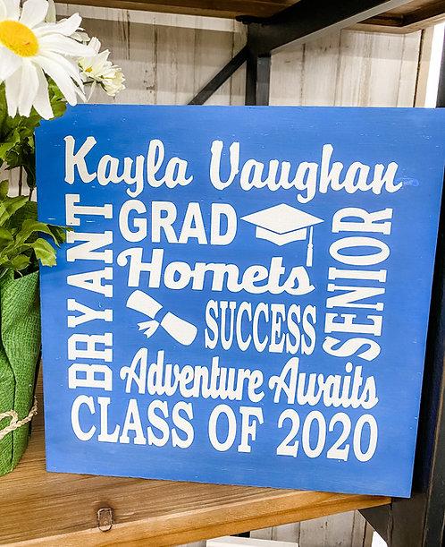 Graduate Sign