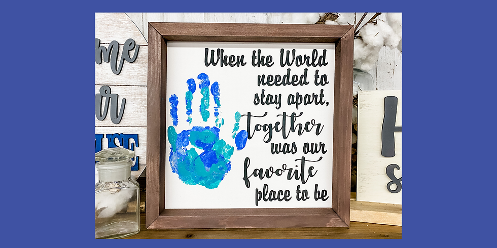 Together Handprint Sign