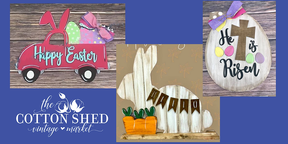 Pick Your Project Workshop ~ Easter Projects