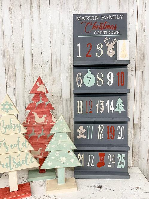 Personalized Advent Calendar