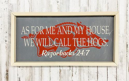 Razorbacks 24:7 Sign