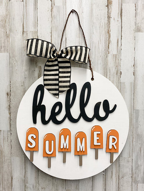 Door Hanger - Hello 4 Seasons