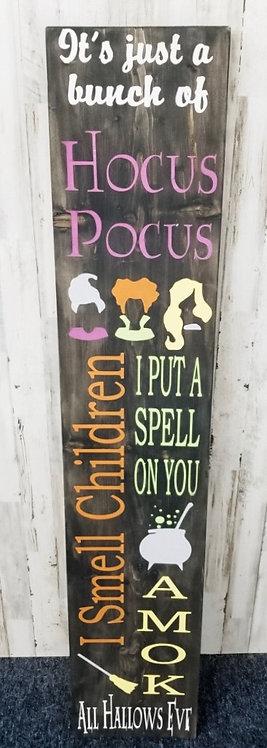 Porch Sign - Hocus Pocus