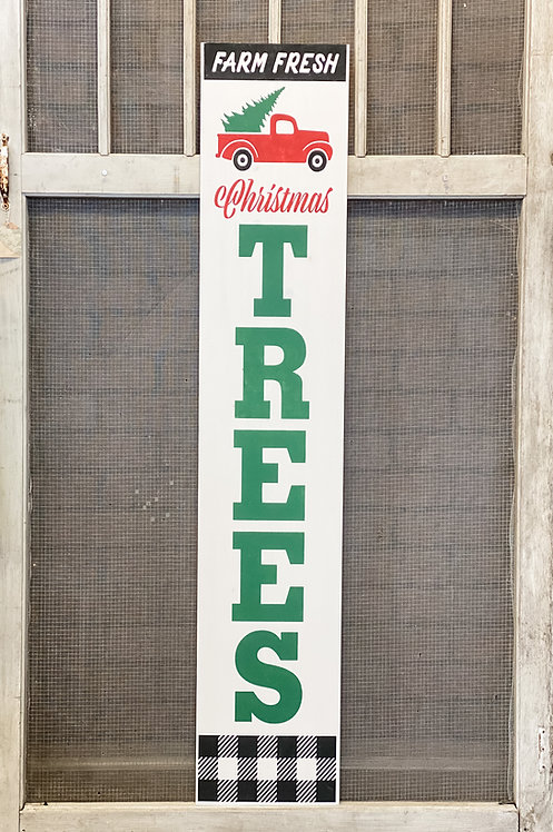 Porch Sign - Christmas Trees